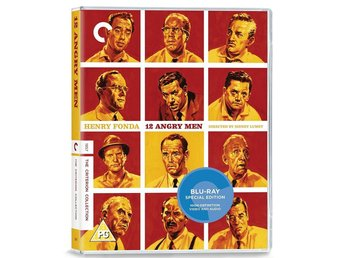 12 Angry Men - CRITERION Collection Blu-ray (1957) Henry Fonda, Sidney Lumet - Norrsundet - 12 Angry Men - CRITERION Collection Blu-ray (1957) Henry Fonda, Sidney Lumet - Norrsundet