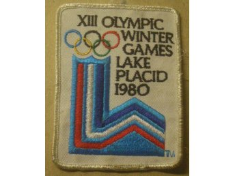 Tygmärke XIII Olympic Wintergames Lake Placid 1980