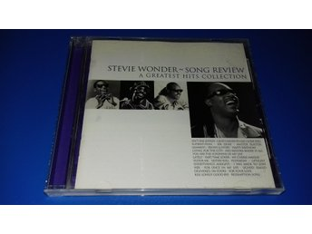 STEVIE WONDER - song review - a greatest hits collection - (cd)