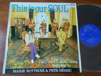 THE FLAMINGO GROUP - This is our soul, LP Supraphon Tjeckien 1971