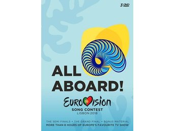 Eurovision Song Contest Lisbon 2018 (3 DVD)