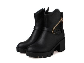 Dam Boots casual shoes with zipper good quality Black 40