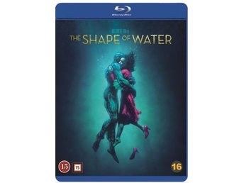 The Shape of Water (Blu-ray) Ny & inplastad / svensk