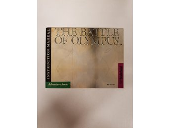 The Battle of Olympus - Manual NES NINTENDO - USA