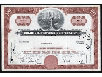 Hollywood Movie Studio: Columbia Pictures Corporation