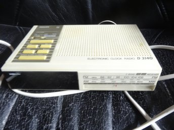 Philips clock radio D3140