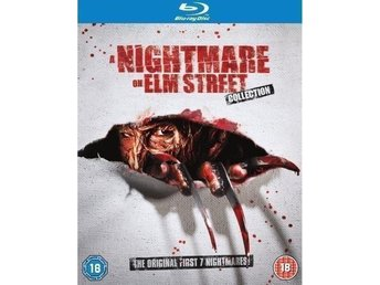 Nightmare On Elm Street 1-7 Blu-ray Ny & Inplastad
