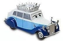 Pixar - Cars  / Bilar / Mcqueen / Disney - The Queen Drottningen Metall NY