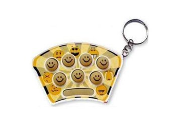 NY! Mini Whack It Mouse Mole Gopher Game KeyChain Toy