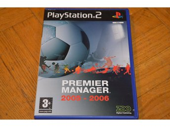 Premier Manager 2005-2006 Playstation 2 PS2