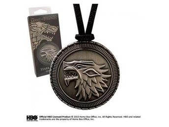 Game of Thrones Halsband Stark Shield