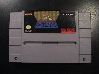 PRINCE OF PERSIA / SUPER NINTENDO SNES / USA IMPORT