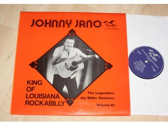 JOHNNY JANO Louisiana Rockabilly  1950's  Flyright Uk Lp