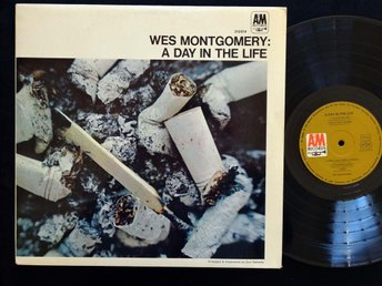 WES MONTGOMERY (M-)  – A Day In The Life / Vinyl LP Germany '67 / Herbie Hancock
