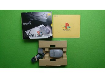 Playstation Mouse KOMPLETT I BOX Psone PS PS1 mus