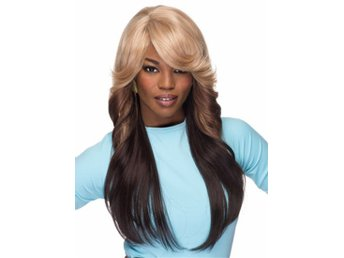 New Beautiful Fashion Long Brown Mix Blonde Wigs Sexy Women's Hair Wig