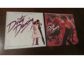 DIRTY DANCING + MORE DIRTY DANCING - 2 ST LP - SOUNDTRACK - 1987 + 1988