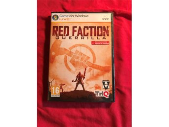 RED FACTION GUERRILLA PC INPLASTAD NY