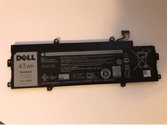 Dell Original Chromebook 11 3120 43Wh 4-cell Battery 5R9DD