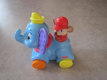 Elefant med ljudfunktion (Fisher Price)