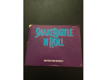 NES manual Snake Rattle'n'roll