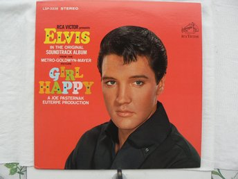 LP : ELVIS PRESLEY - Girl Happy  LSP-3338 Stereo  USA Pressad Helt Ny LP