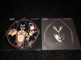 KISS GENE SIMMONS VIPD-2 JAPAN 1978 ORIGINAL PICTURE DISC VERY RARE LP