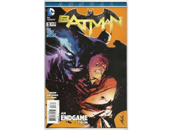Batman 2nd Series Annual # 3 NM Ny Import