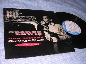 "George Lewis New Orleans Stompers (10"") Blue Note org VG+/EX"