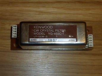 Kenwood 500Hz CW filter för 455kHz (YG-455C-1) - Täby - Kenwood 500Hz CW filter för 455kHz (YG-455C-1) - Täby