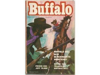 Buffalo Bill 1973 Nr 2 VG Lös Vid 1 Nit - Vikingstad - Buffalo Bill 1973 Nr 2 VG Lös Vid 1 Nit - Vikingstad