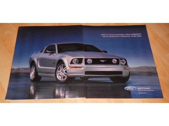 FORD MUSTANG - BUILT FOR THE ROAD AHEAD, STOR TIDNINGSANNONS 2004