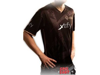 Ninjas in Pyjamas Team Jersey 2016 Svart (X-Large)
