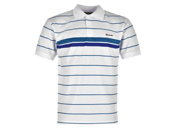 GOLF  Ram Stripe Golf Polo Herr LARGE