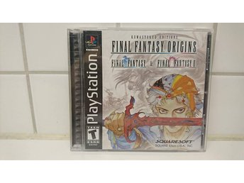 PSONE Play Station 1 Final Fantasy Origins - Final Fantasy l & Final Fantasy ll