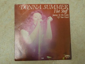 "DONNA SUMMER -Hot stuff 7"" singel"