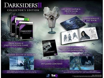 Darksiders 2 Collectors Edition XBOX 360 spel , Bra skick