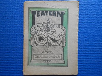 Teatern Allers Familj-journal nr 19 1926