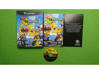 The Simpsons Hit & Run KOMPLETT Gamecube Nintendo Game Cube