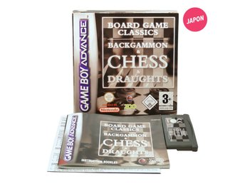 Board Games Classics: Backgammon, Chess and Draughts (EUR)