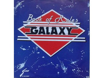 "Galaxy title* Book Of Rules / Disco Boogie* Disco 7"" SWE"