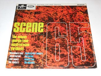 SCENE 65 - V/A LP MONO ANIMALS/YARDBIRDS/DOWNLINERS SECT MFL.