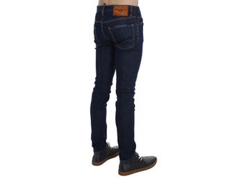 Dsquared² - Blue Cotton Stretch Slim Skinny Jeans