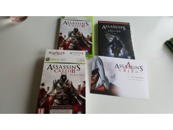 Assassins creed 2 lineage edition xbox360