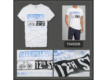 Ny! Mäns EAST VILLAGE White Size L-T040