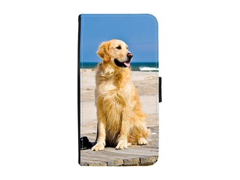 Golden Retriever Samsung Galaxy A3 2017 Plånboksfodral