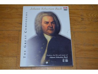Johann Sebastian Bach - The Great Composers DTS - 2 CD - 1 DVD Box