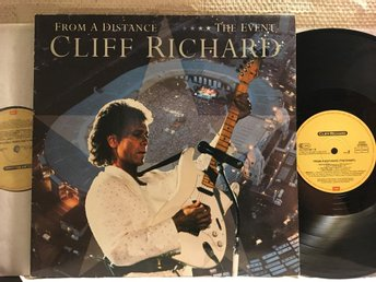 CLIFF RICHARD - FROM A DISTANCE - THE EVENT - 2-LP