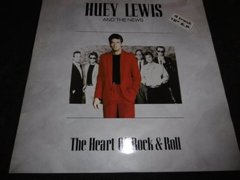 "Huey Lewis & The News - The heart of rock & roll - 12""- 1986"