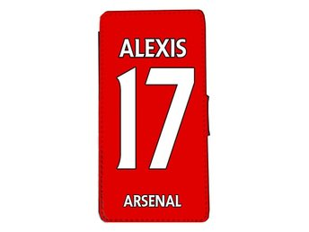 iPhone 6 / 6s Plånboksfodral Alexis 17 Arsenal tröja fodral - Markaryd - iPhone 6 / 6s Plånboksfodral Alexis 17 Arsenal tröja fodral - Markaryd